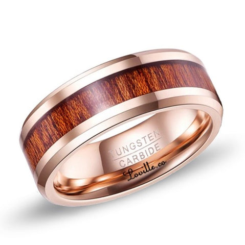 Forester Ring in Rose Gold