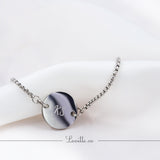 Luna Engravable Bracelet Adjustable