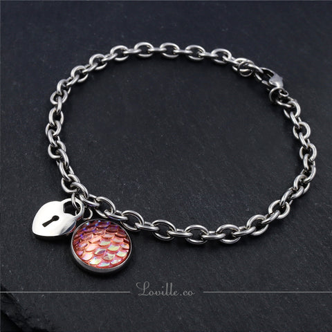 Mermaid Lock Bracelet