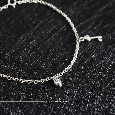 Key to My Heart Bracelet