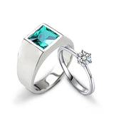 (Emerald Green) Futurist Love Bands - Loville.co