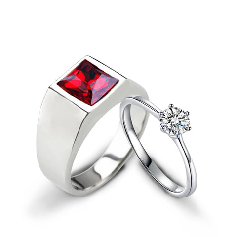 (Ruby Red) Futurist Love Bands - Loville.co