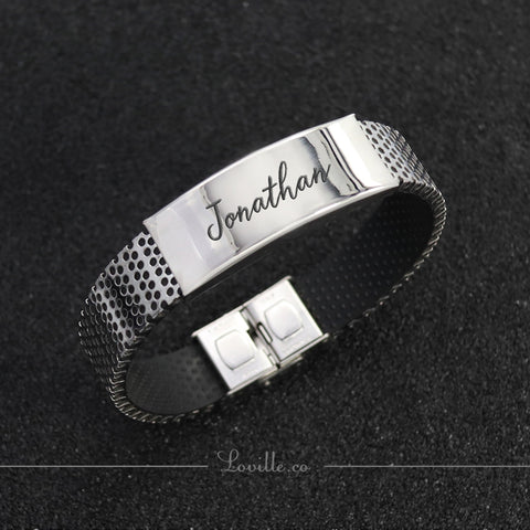 Jake Engravable Bracelet