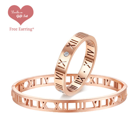 (Rose Gold) Roman Set - Loville.co