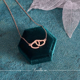 (Rose Gold) Gloria Interlock Love Set