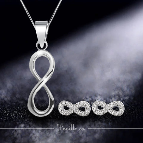 Infinity Set (925 Silver)