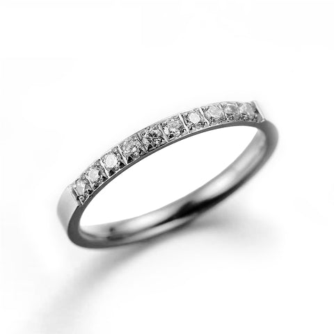 (Silver) Yumie Engagement Ring - Loville.co