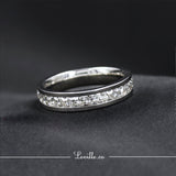 (Silver) Swift Engagement Ring - Loville.co