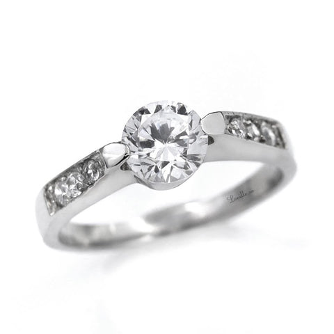 Rose Engagement Ring - Loville.co