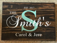 Family Monogram Personalization