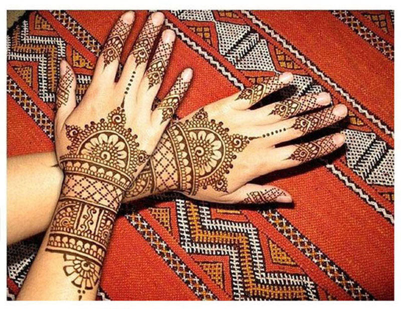 3pcs Henna Indian Tattoo Paste Queen Kings