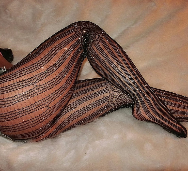 LUSCIOUS FISHNET TIGHTS