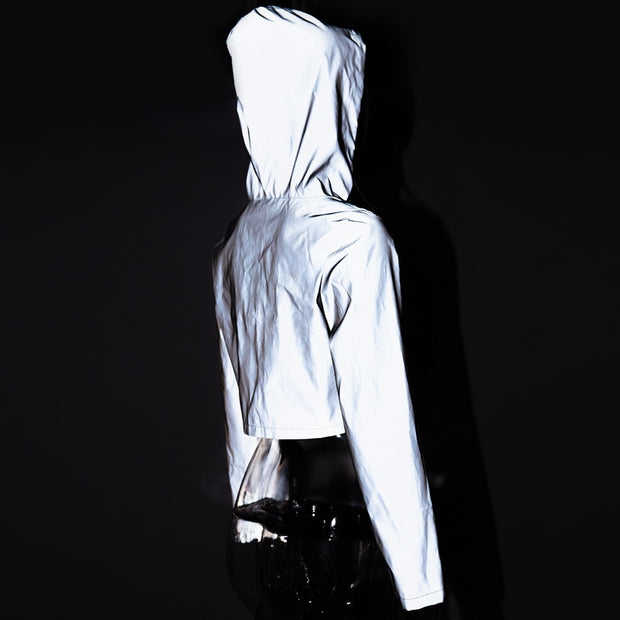 NEW! MINT'S REFLECTIVE HOODED COAT