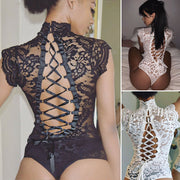 APRIL FLORAL LACE BODYSUIT