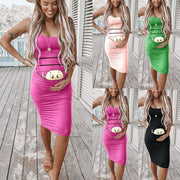 CUTE MATERNITY DRESS