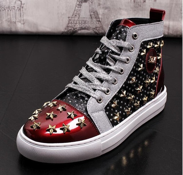 BXD STAR STUDDED HIGHTOPS