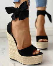SWEET WEDGE HEELS