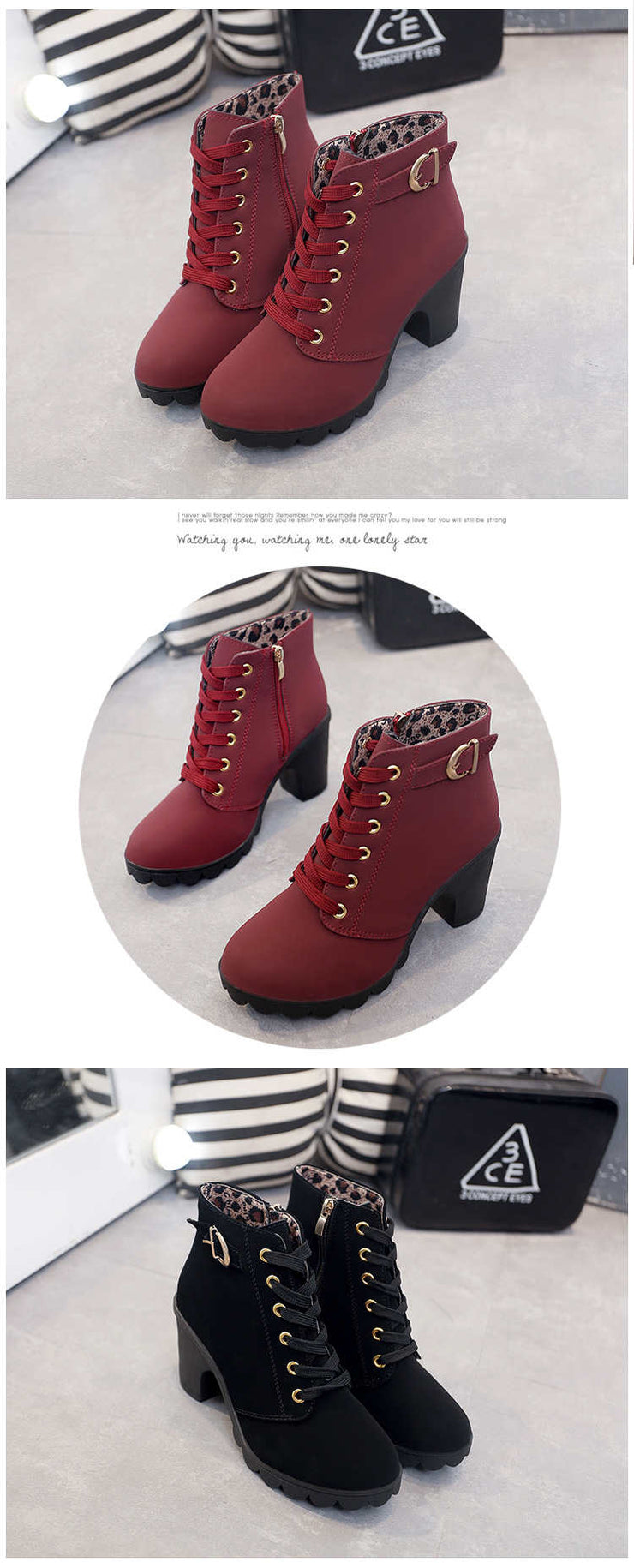 Scarlett Sexy Ankle Boots
