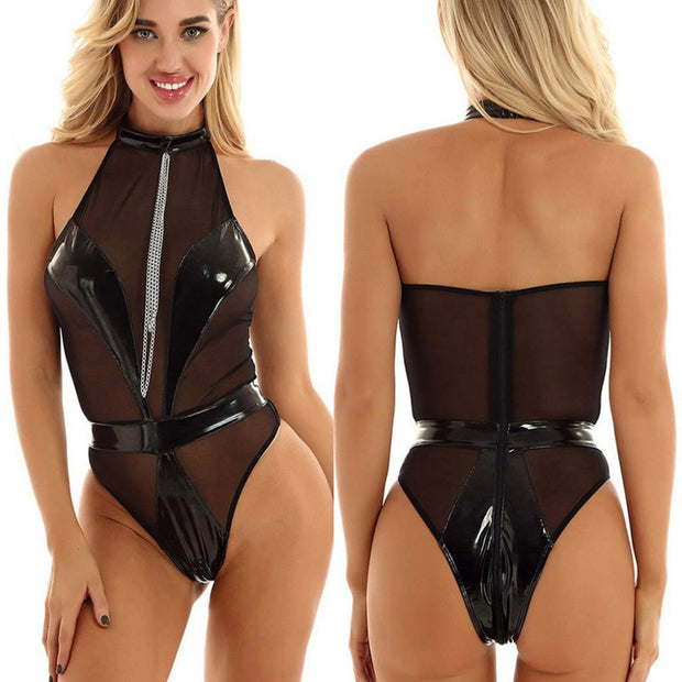 ROSA LATEX BODYSUIT