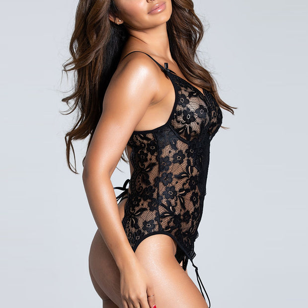 PEAR DROPS LACE BODYSUIT