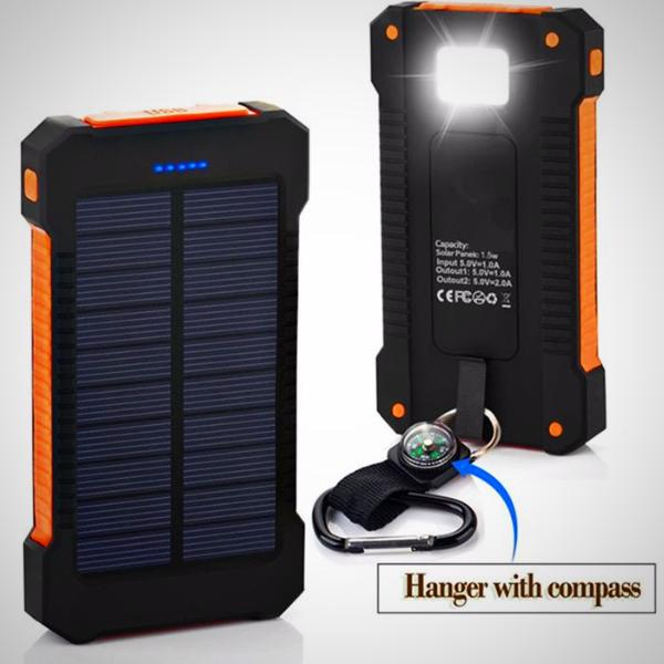 Limited! Waterproof Solar Power Bank