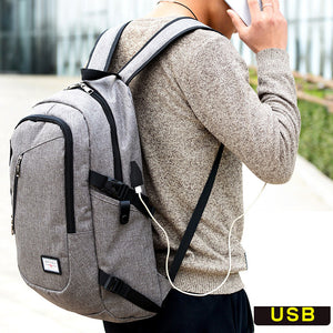 Smart Backpack USB Rechargeable