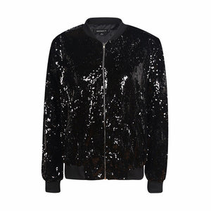 2017 Twinlights Two Toned Sequin Coat
