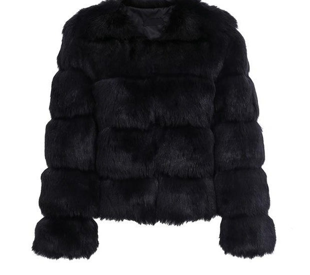Fluffy Fur Coat