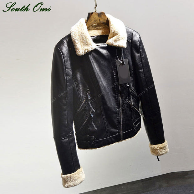ON THE HIGHWAY LEATHER COAT