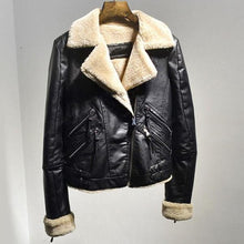 ON THE HIGHWAY WOMEN'S FUR & LEATHER COAT