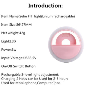 NEW! RING LIGHT FOR iPHONE, iPAD, MACBOOK