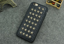 STUDDED LEATHER IPHONE CASE