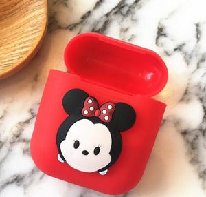 CARTOON APPLE AIRPODS CASE