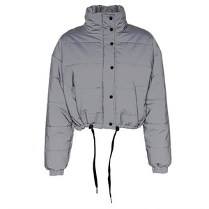 NEW! FLY REFLECTIVE PUFFER JACKET
