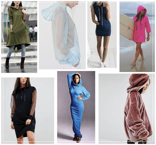 Hove Hoodie Dress Inspiration