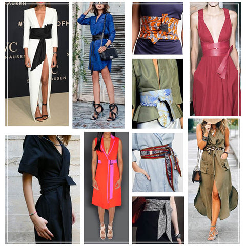 Pico Wrap Dress Inspiration