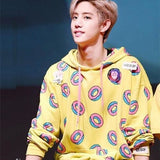 Pull Sweatshirt Donuts de Mark des GOT7 Kpop