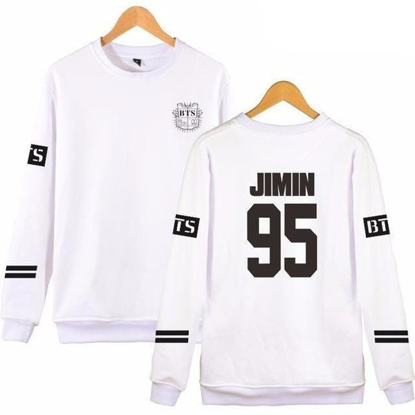 "Pull sweater blanc BTS Bangtan ""ARMY"" - The KPOP Life"