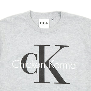 Chicken Korma T-Shirt Grey Marl