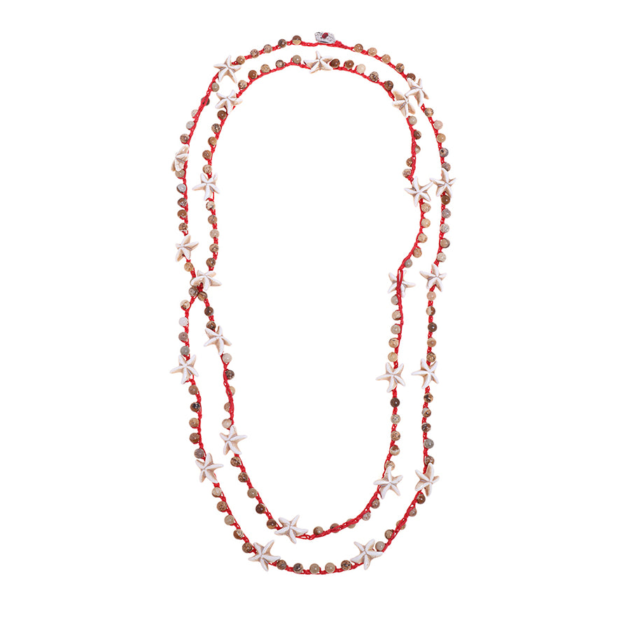 Hot Red Necklace - SEA Smadar Eliasaf
