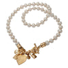 Charming Pearl Necklace - Gold