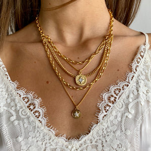 Byonce D Golden Necklace - SEA Smadar Eliasaf
