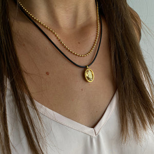 Golden Swank Necklace - SEA Smadar Eliasaf