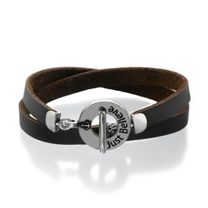 JUST BELIEVE Bracelet - Brown - SEA Smadar Eliasaf