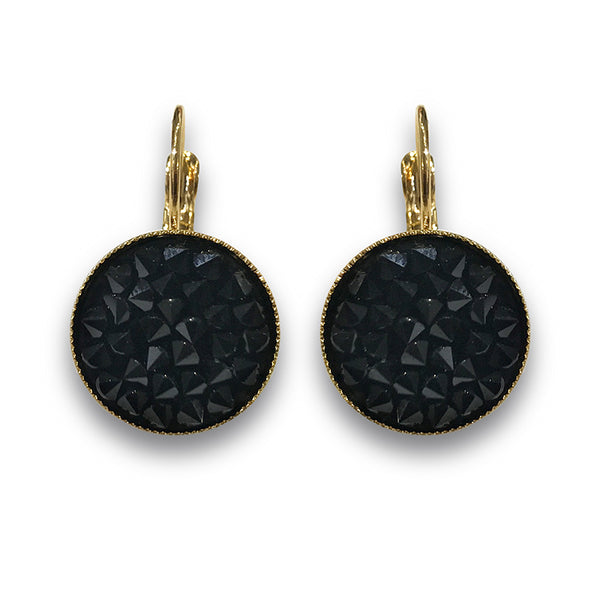 Black Sparks Earrings - SEA Smadar Eliasaf