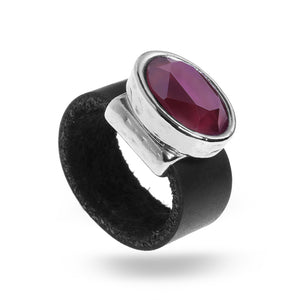 Eye Catching Ruby Ring - SEA Smadar Eliasaf