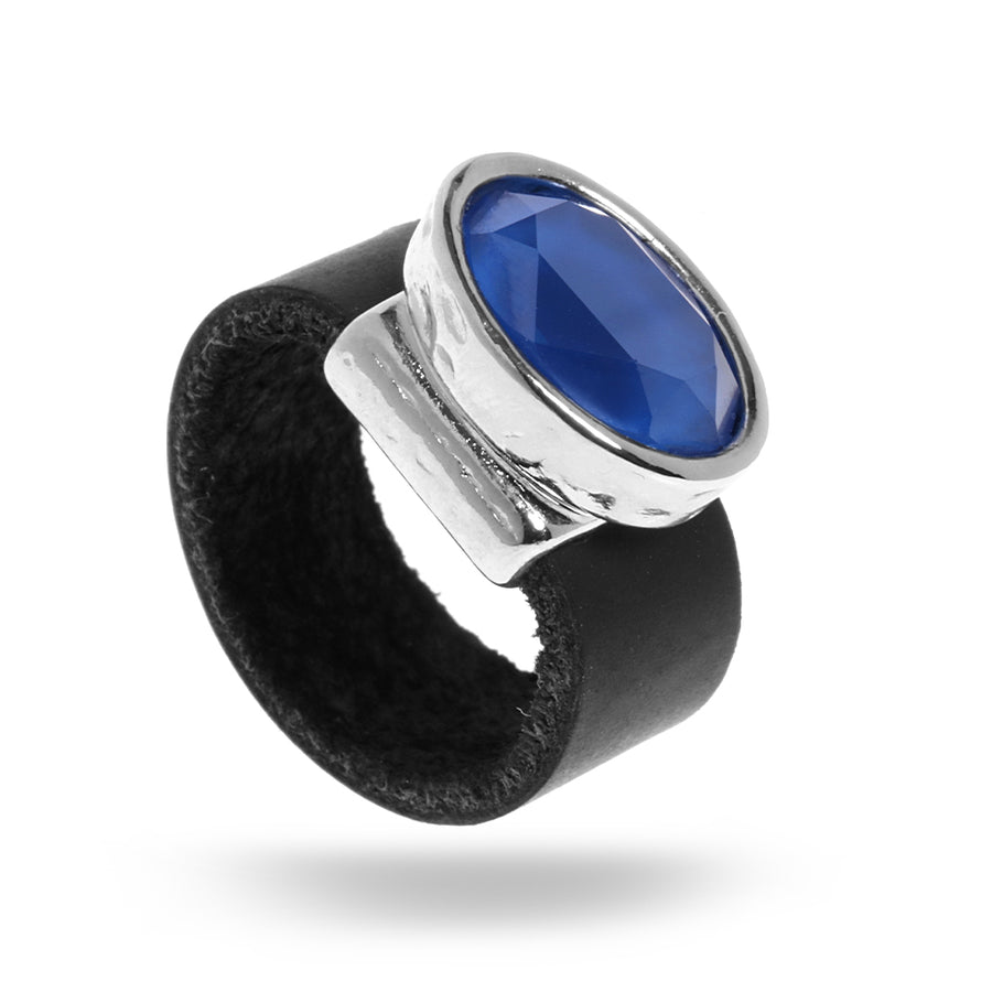 Eye Catching Blue Ring - SEA Smadar Eliasaf