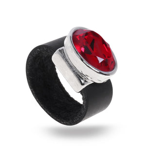 Eye Catching Red Ring - SEA Smadar Eliasaf