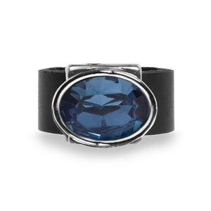 Eye Catching Dark Blue Ring - SEA Smadar Eliasaf