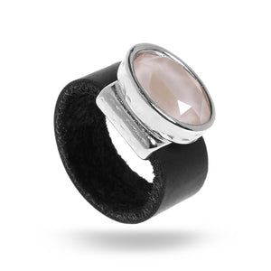 Eye Catching Powder Pink Ring - SEA Smadar Eliasaf